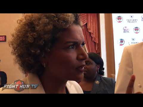 "LUCIA RIJKER ON RONDA ROUSEY ""THEY WANTED TO GET THE MONEY, SHE COULDVE BEEN A GREAT FIGHTER"