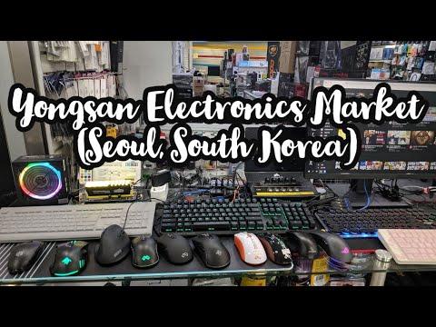Yongsan Electronics Market Tour (Seoul) South Korea 서울용산전자상가