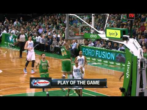 Jason Terry Sets Up the BIG Oop for Chris Wilcox