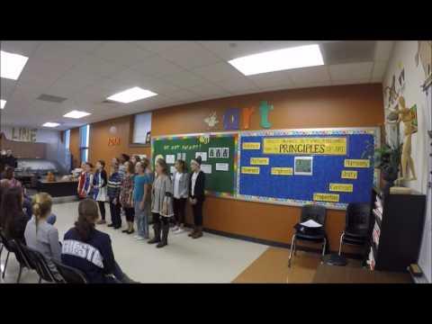 Mr. Lincoln -- Rochester Intermediate School 5th & 6th Graders Performance