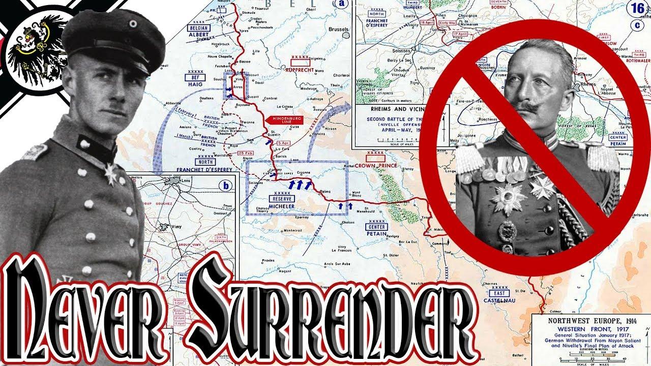 Never Surrender Deutsch