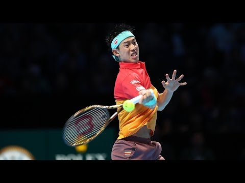 Highlights: Nishikori Tops Federer In London 2018 Opener
