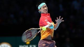 Highlights: Nishikori Tops Federer In London 2018 Opener