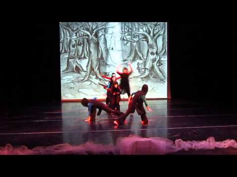 """JABBERWOCKY"" Coastal Dance Theatre ""ALICE IN WINTERLAND"""