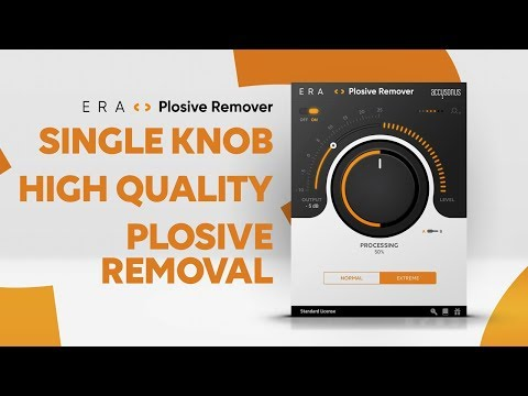 """ERA Plosive Remover 