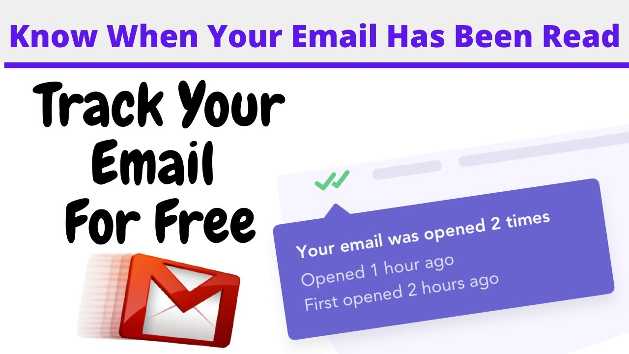 How to know when email has been read