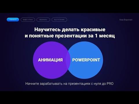 Анимация в PowerPoint в 2020 / Morph переход и трансформация, полный видео-урок