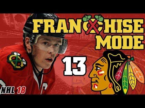 NHL 18: Chicago Blackhawks Franchise Mode EP13 - 2020 NHL Entry Draft