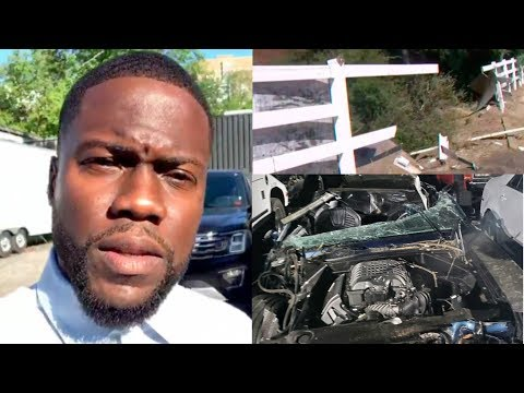 Kevin Hart CAR CRASH Almost ends his LIFE, was Trapped in the CAR! He is OKAY