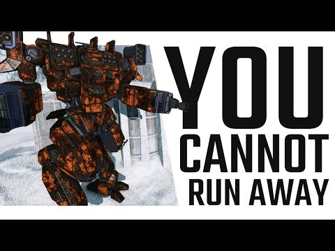 You cannot run away! Arctic Wolf SRM + Flamer Build - Mechwarrior Online The Daily Dose #343