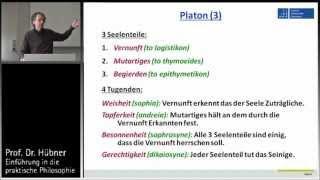 Praktische Philosophie 4a: Tugendethik - Platon