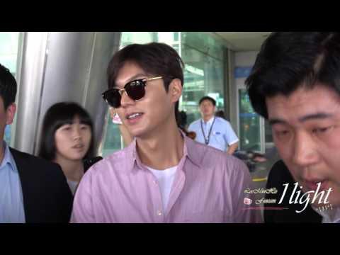 Lee Min Ho 20160627 Incheon Airport 입국