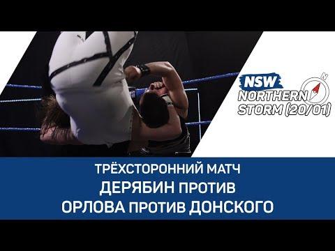 NSW Northern Storm (20/01): Антон Дерябин против Дмитрия Орлова против Дмитрия Донского
