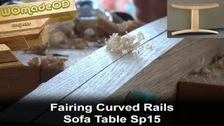 Fairing Curves - Sofa Table Sp15 Build Part 6
