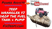 [QNCB_7524]  Changing the Fuel Filter on a Jeep Wrangler (91 YJ) - YouTube | 1992 Jeep Wrangler Fuel Filter |  | YouTube