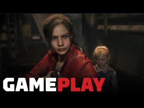 Resident Evil 2 Claire Gameplay Showcase - Gamescom 2018