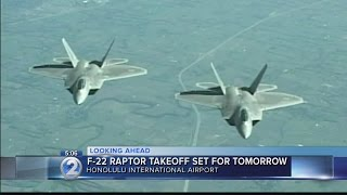 Hawaiian Raptors to fly out of Honolulu early Friday morning