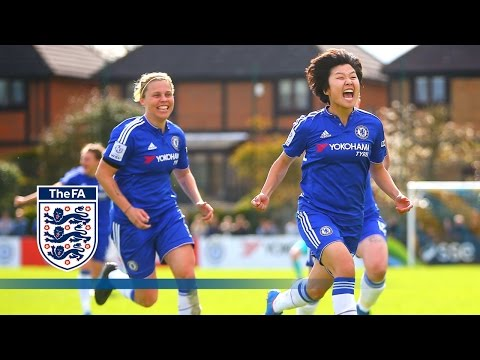 Chelsea Ladies 2-1 Manchester City Women (2015/16 FA Women's Cup SF) | Goals & Highlights