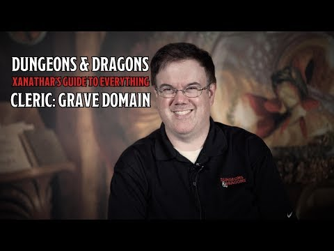 D&D's Cleric Grave Domain is in Xanathar's Guide To Everything