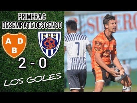 Primera C : BERAZATEGUI 2 - 0 SP. BARRACAS   (Desempate Descenso)   LOS GOLES + FINAL DEL PARTIDO