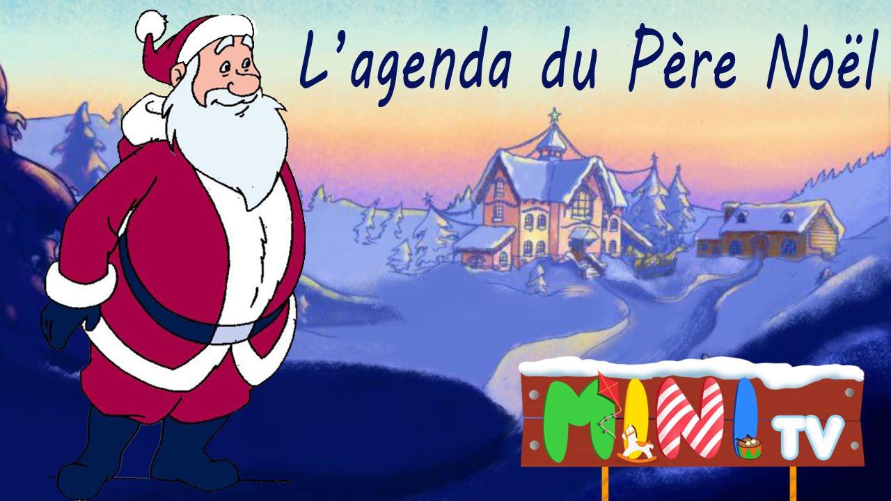Lettre Electronique Au Pere Noel.L Agenda Du Pere Noel Dessin Anime Special Noel Hd