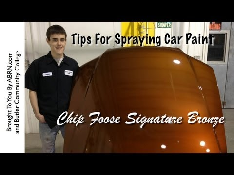 how to blend acrylic paint into clear coat on car