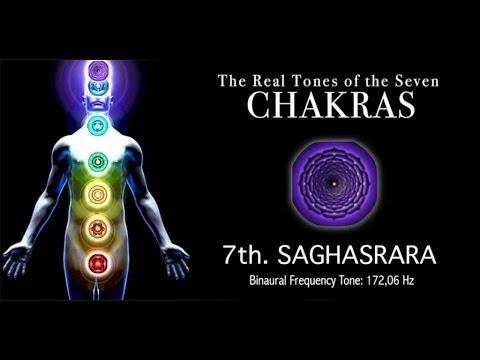 Chakra Real Tone  7th SAHASRAR  172,06Hz Real Chakra Tone
