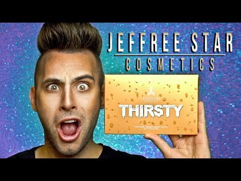 NO BULLSH*T Jeffree Star THIRSTY Palette Review!