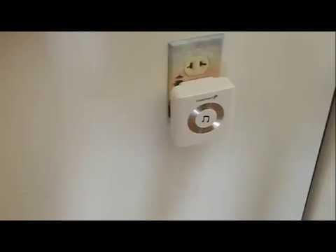 Wireless Magnetic Alarm Door Sensor Alert Bell Business