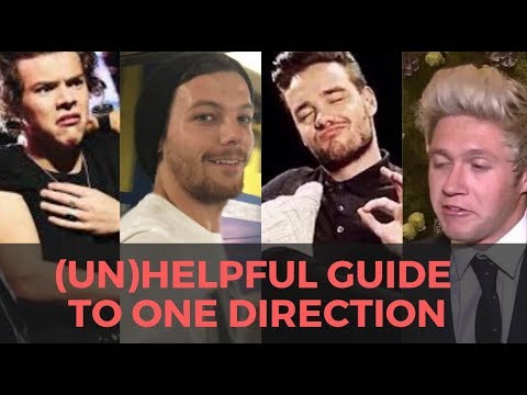 (UN)HELPFUL GUIDE TO ONE DIRECTION
