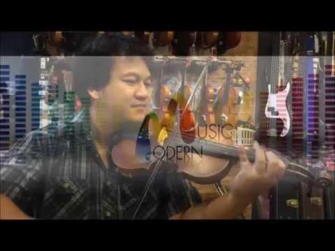 ขายไวโอลิน ราคาถูก เพียง 2,200 ไม้แท้ทั้งตัว violin overtone รุ่น 150 โดยอาจาร์ย ไก่ ไวโอลินไทย
