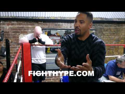 ANDRE WARD HAS TOUGH QUESTIONS FOR KOVALEV; EXPLAINS HE WAS BATTLE-HARDENED TO FACE BULLIES & FEARS