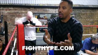 ANDRE WARD HAS TOUGH QUESTIONS FOR KOVALEV; E...