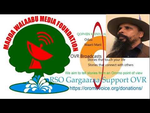 Oromo Voice Radio (OVR) Broadcasts- 17 February 2018