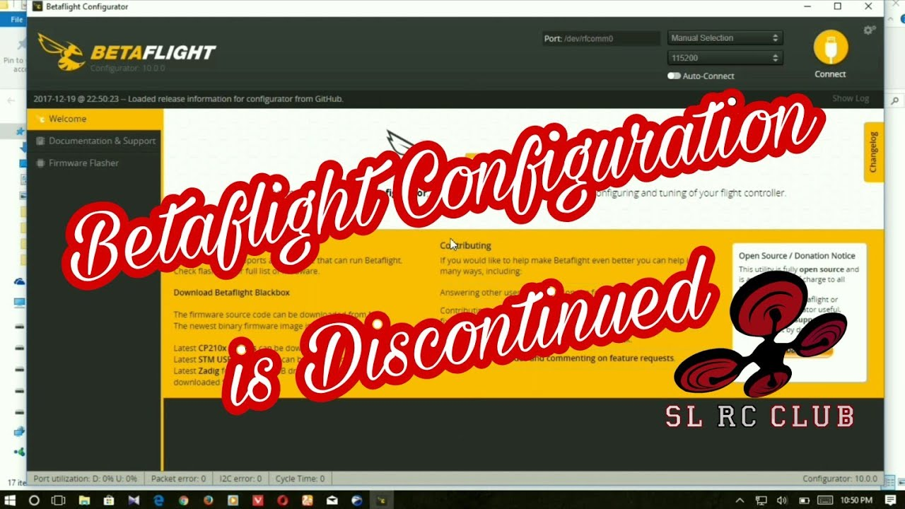 Standalone Betaflight and Cleanflight Configurator - Chrome Web Store no  longer work for apps
