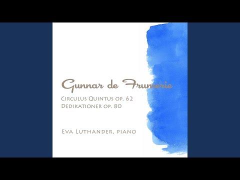 Dedikationer, Op. 80: I. Till Stina Sundell