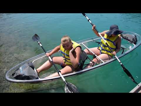 Crystal kayaks at Green Lakes: All the details about the buzzed-about new boats