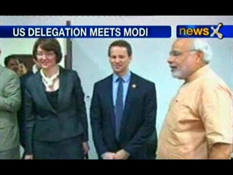 US delegations meet Modi