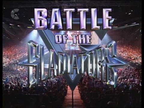 ITV's The Battle Of The Gladiators Celebrity Special - 26th December 1993