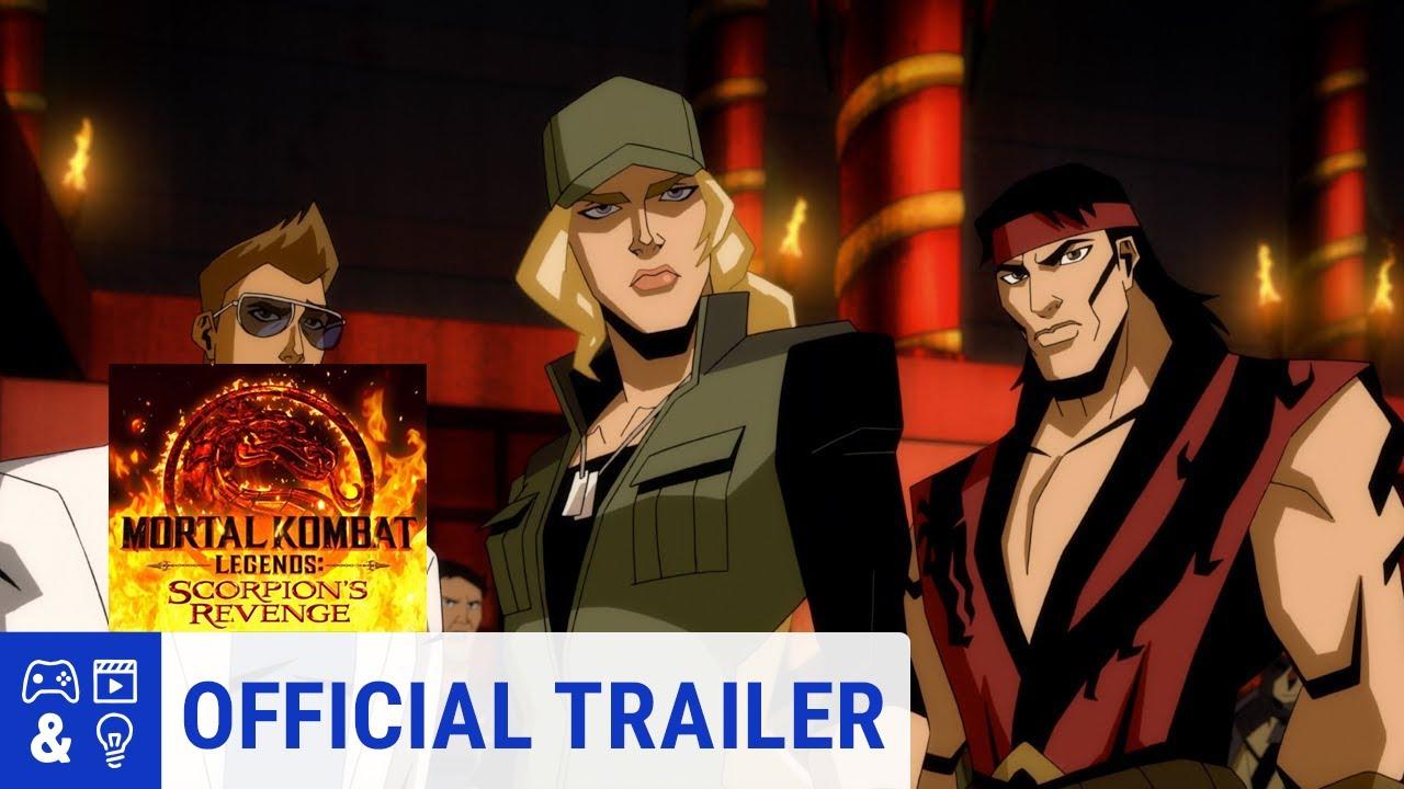Mortal Kombat Legends Scorpion S Revenge Red Band Trailer Youtube