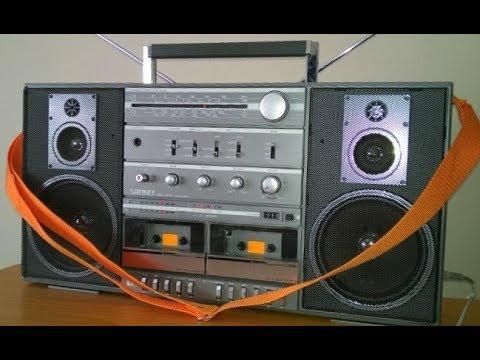 Sankei TCR-S97 vintage boombox ghettoblaster