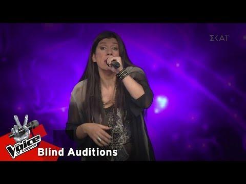 Άννα Μανωλαράκη - With or without you | 14o Blind Audition | The Voice of Greece