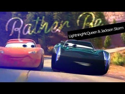 LightningMcQueen & Jackson Storm -  Rather Be (for Soni´s World)