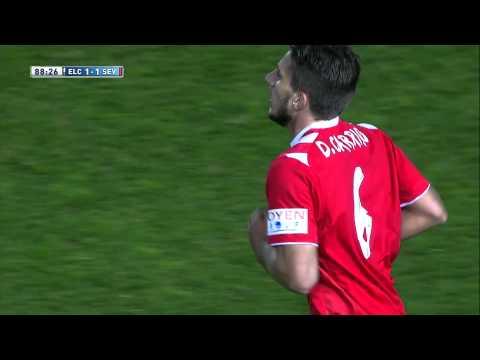 Gol de Carriço (1-1) en Elche CF - Sevilla FC - HD