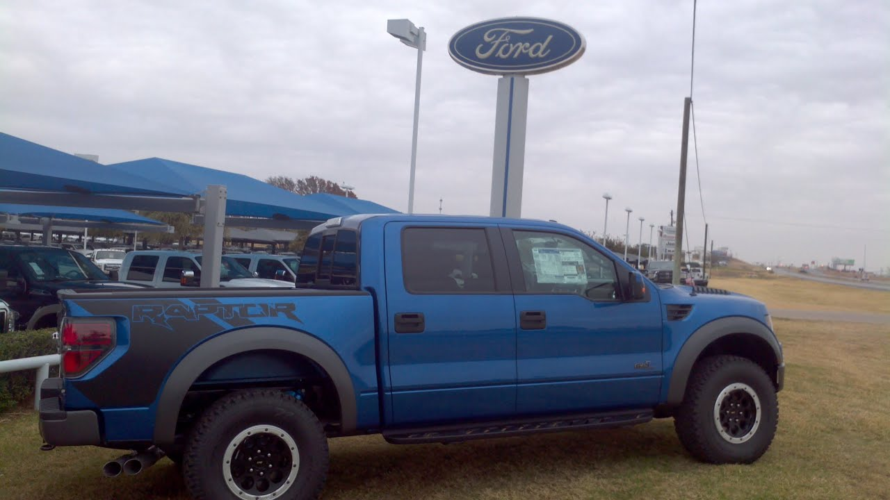 New 2013 blue flame ford raptor svt 6 2l call troy young 817 243 9840 youtube