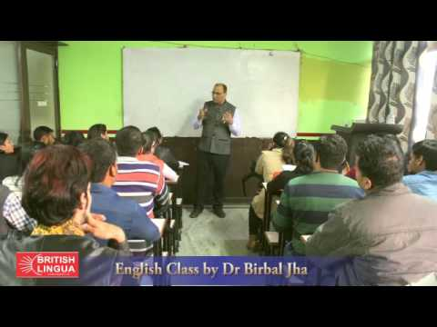 Spoken English Training by Dr Birbal Jha 01