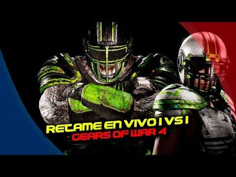Gears of War 4 : Retame en vivo 1 vs 1