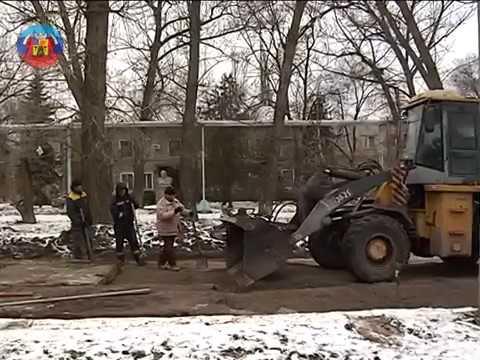 lgikvideo: ремонт дороги на Тимирязева
