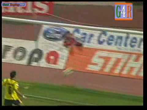 Panionios -  Asteras Tripolis  3-0   Super League 2008-09  Greece (3-0 final score )