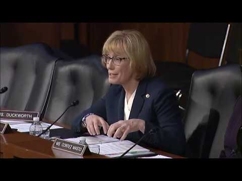 """Sen. Hassan Presses FTC Nominees on Student Loan Scams, Predatory Video Game """"Loot Boxes"""""""